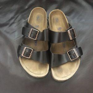 Men's arizona leather Birkenstock's